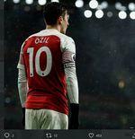 Best XI Mesut Ozil di Arsenal: Pilih Aubameyang ketimbang Lacazette meski Statistik Berkata Lain