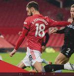 Manchester United vs Aston Villa: Bruno Fernandes Ciptakan 3 Catatan Penting