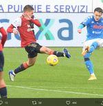 Hasil LIga Italia: Napoli Menang 4-1 atas Cagliari