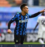 Hasil Liga Italia: Inter Milan Pesta Gol, 6-2 lawan Crotone Lautaro Martinez Hattrick
