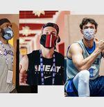 Protokol Kesehatan Diperketat, Pemain NBA Hanya Boleh Lepas Masker Jika...