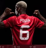 Ini Pilihan Nomor Punggung Paul Pogba Jika Pindah ke PSG