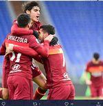Hasil AS Roma vs Inter Milan:  Babak Pertama I Giallorossi Unggul 1-0