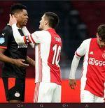 Hasil Ajax vs PSV: Derby De Topper Berakhir Tanpa Pemenang