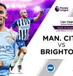 Prediksi Manchester City vs Brighton: Kans City Lanjutkan Tren Positif