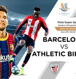 Link Live Streaming Barcelona vs Athletic Bilbao di Final Piala Super Spanyol