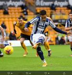 Hasil Liga Inggris: Dua Penalti West Bromwich Tumbangkan Wolverhampton Wanderers 3-2