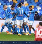 Hasil Liga Italia: Lorenzo Insigne Cetak Brace, Napoli Babat Fiorentina 6-0