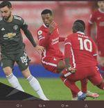 Hasil Liverpool vs Manchester United: Tanpa Gol di Anfield, Setan Merah Kokoh di Puncak