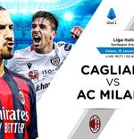 Link Live Streaming Liga Italia: Cagliari vs AC Milan