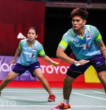 Adnan/Mychelle Tidak Mencapai Target Usai Terhenti di Babak Kedua Toyota Thailand Open 2021