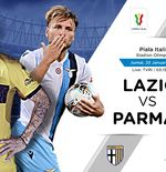 Link Live Streaming Coppa Italia: Lazio vs Parma