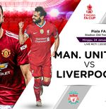 Link Live Streaming Manchester United vs Liverpool di Piala FA