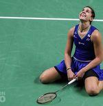 Rekor Sempurna Carolina Marin saat Jadi Ratu Thailand Open 2021