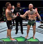 Jelang Lawan Conor McGregor, Dustin Poirier Taklukkan Manusia Terkuat di Dunia