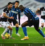 Hasil Udinese vs Inter Milan: Hanya Imbang 0-0, I Nerazzurri Masih Mengekor AC Milan