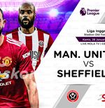 Link Live Streaming Manchester United vs Sheffiled United di Liga Inggris