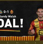 Pemain Keturunan Indonesia Sandy Walsh Cetak Gol dan Bawa Klubnya Menang di Liga Belgia