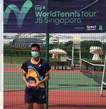 Makin Garang di Singapura, Nathan Anthony Barki Sabet Dua Gelar