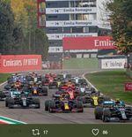 F1 GP Emilia Romagna 2021: Pirelli Siapkan Trofi Anyar untuk Peraih Podium