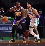 LeBron James Tanggapi Empat Kekalahan Beruntun LA Lakers di NBA 2020-2021