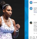 Australia Open 2021: Kostum Nyentrik Serena Williams Kembali Jadi Perhatian
