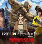 Karakter Anime Attack on Titan Akan Hadir di Game Free Fire