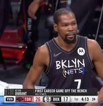 Hasil NBA: Brooklyn Nets Kalah, Kevin Durant Diusir dari Lapangan