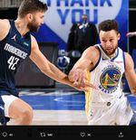 Hasil NBA: Warriors Dikalahkan Mavericks, 57 Poin Stephen Curry Tak Berarti