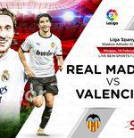 Link Live Streaming Real Madrid vs Valencia di Liga Spanyol