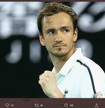 Daniil Medvedev Sukses Geser Posisi Rafael Nadal dalam Ranking ATP
