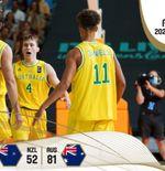 Hasil Kualifikasi Piala Asia FIBA 2021: Australia Kalahkan Selandia Baru, Revans Berhasil