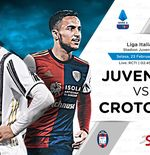 Link Live Streaming Liga Italia: Juventus vs Crotone