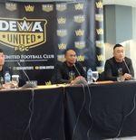 Dewa United FC Bergerak dan Gelar Seleksi Pemain Awal Bulan Depan
