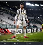 Cetak Brace lawan Crotone, Cristiano Ronaldo Dekati Rekor Zlatan Ibrahimovic