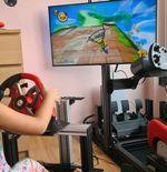 Seorang Ayah di Malaysia Buatkan Sang Putri Mesin Simulasi Mario Kart