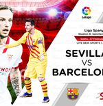 Link Live Streaming Liga Spanyol: Sevilla vs Barcelona
