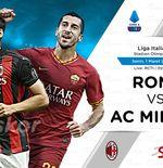 Link Live Streaming AS Roma vs AC Milan di Liga Italia