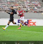 Hasil Liga Europa Arsenal vs Benfica: Aubameyang Bawa The Gunners ke 16 Besar setelah Menang 3-2
