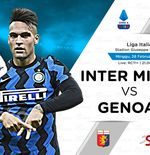 Link Live Streaming Liga Italia: Inter Milan vs Genoa
