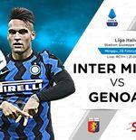 Link Live Streaming Inter Milan vs Genoa di Liga Italia