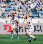 Cetak Brace di Laga Pembuka J1 League, Sayap Nagoya Grampus Asal Brasil Puas