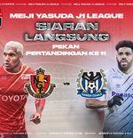 Jadwal Siaran Langsung J.League di K-Vision Hari Ini: Nagoya Grampus Jamu Gamba Osaka