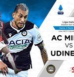 Link Live Streaming AC Milan vs Udinese di Liga Italia