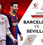Link Live Streaming Copa del Rey: Barcelona vs Sevilla