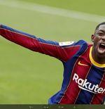 Ousmane Dembele Akui Belum Ada Obrolan dengan Barcelona soal Kontrak Baru