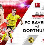 Link Live Streaming Bayern Munchen vs Borussia Dortmund di Liga Jerman