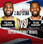 NBA All Star 2021: Pilihan Tim LeBron James vs Kevin Durant