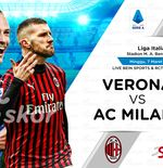 Link Live Streaming Hellas Verona vs AC Milan di Liga Italia