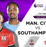 Link Live Streaming Manchester City vs Southampton di Liga Inggris